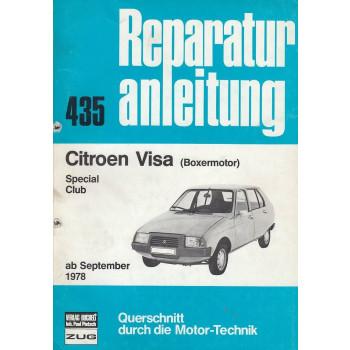 Citroen Visa Special / Club mit Boxermotor (ab 9.1979) - Reparaturanleitung