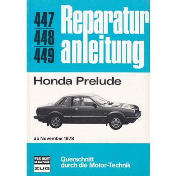 Honda Prelude (ab 11.1978) - Reparaturanleitung