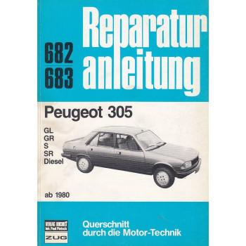 Peugeot 305 (ab 1980) - Reparaturanleitung