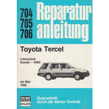 Toyota Tercel Limousine / Kombi - 4WD (ab 1982) - Reparaturanleitung