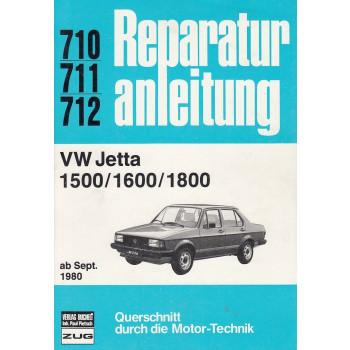 VW Jetta 1500 / 1600 / 1800 (ab 1980) - Reparaturanleitung
