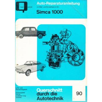 Simca 1000 (61 - 78) - Reparaturanleitung