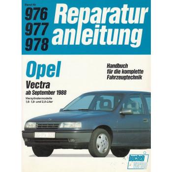 Opel Vectra 1,6 / 1,8 / 2,0 L (ab 1988) - Reparaturanleitung