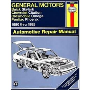 Chevrolet Citation (80-85) - Repair Manual Haynes