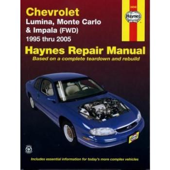 Chevrolet Lumina / Monte Carlo / Impala (FWD) (95 - 03) - Repair Manual Haynes