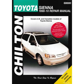 Toyota Sienna (98 - 10) - Repair Manual Chilton