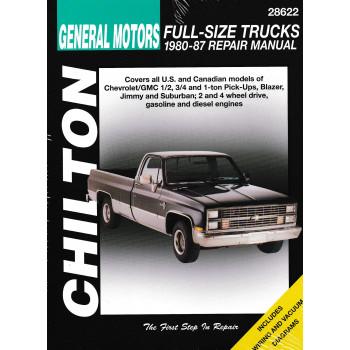 Chevrolet Pick-Ups (80 - 87) - Repair Manual Chilton