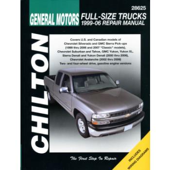 Chevrolet Full Size Trucks (99-06) Repair Manual Chilton