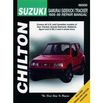 Suzuki Samurai / X90 (86-98) Repair Manual Chilton
