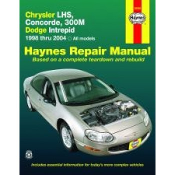 Chrysler LHS, Concorde, 300M and Dodge Intrepid (98 - 03) - Repair Manual Haynes