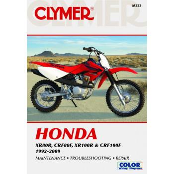 Honda XR80R CRF80F XR100R CRF100F (92-09) - Reparaturanleitung