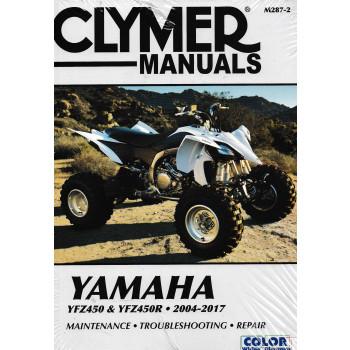 Yamaha YFZ450 YFZ450R (04-17) - Reparaturanleitung