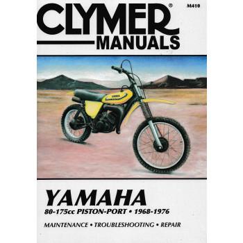 Yamaha DT / MX / YZ /GT 80-175 ccm (68-76) - Repair Manual