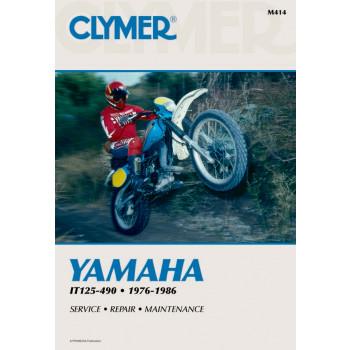 Yamaha IT 125, 175, 200, 250, 400, 425, 465, 490 (76-86) - Repair Manual