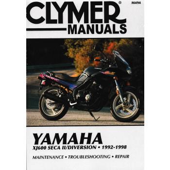 Yamaha XJ600 Seca II/Diversion, (92-98) - Repair Manual