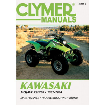 Kawasaki Mojave KSF250 (87-04) Clymer Repair Manual