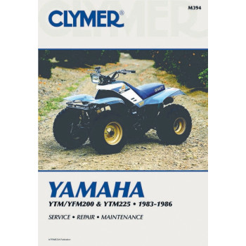 Yamaha YTM 200 / YTM 225 / YFM 200  (83-86) Clymer Repair Manual