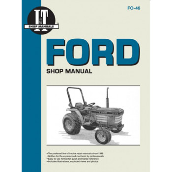 Ford Tractor 1120, 1220, 1320, 1520, 1720, 1920, 2120 - Shop Manual