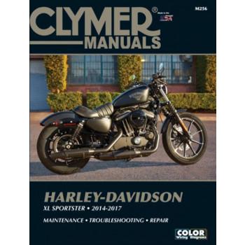 Harley Davidson XL 883 / 1200 Sportster (14-17) Clymer Repair Manual