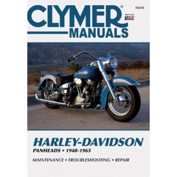 Harley Davidson Panheads (48- 65) Clymer Repair Manual