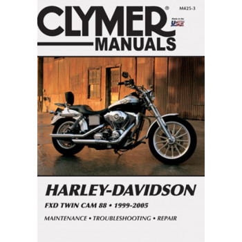 Harley Davidson FXD Twin Cam 88 (99-05) Clymer Repair Manual