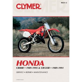 Honda CR80R and CR125R (89-95) Clymer Repair Manual