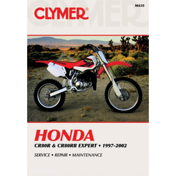 Honda CR80R (97-02) Clymer Repair Manual