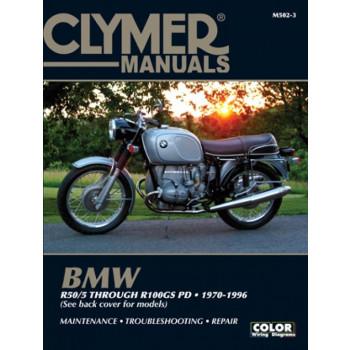 BMW R 50/5 bis R 100 GS PD (70-96) Repair Manual Clymer