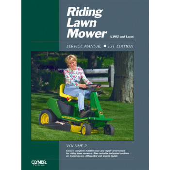 Aufsitzmäher Riding Lawn Mover 1th. Edition (92>)  Repair Manual Clymer