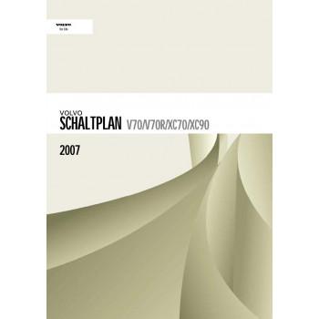 Volvo V70 (2007) Werkstatthandbuch Schaltpläne
