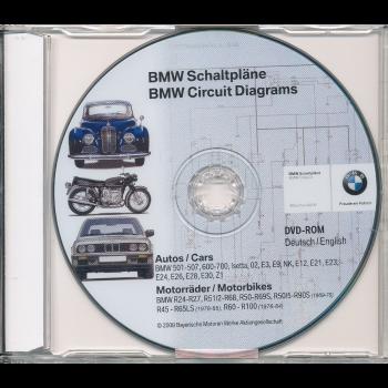 BMW Schaltpläne Youngtimer / Oldtimer (Autos u. Motorrad) Werkstatthandbuch DVD