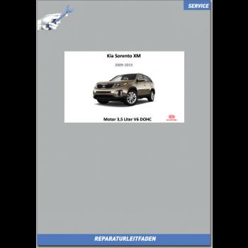 Kia Sorento XM (09-14) Werkstatthandbuch Motormechanik G 3,5 Liter V6 DOHC