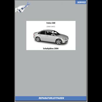 Volvo S40 (2004) Werkstatthandbuch Schaltpläne