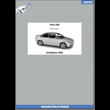 Volvo S40 (2006) Werkstatthandbuch Schaltpläne