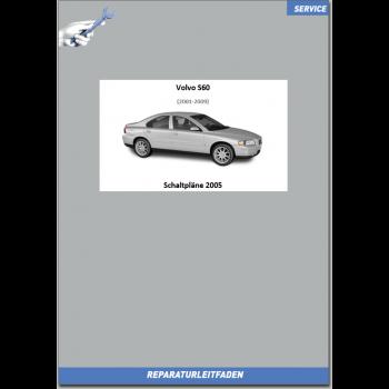 Volvo S60 / S60R (2005) Werkstatthandbuch Schaltpläne
