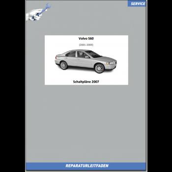 Volvo S60 / S60R (2007) Werkstatthandbuch Schaltpläne