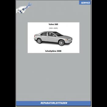 Volvo S60 (2008) Werkstatthandbuch Schaltpläne