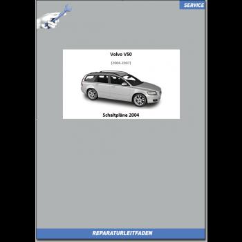 Volvo V50 (2004) Werkstatthandbuch Schaltpläne