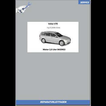 Volvo V70 B (2008-2016) Werkstatthandbuch Motor 2,0 Liter Benziner B4204S3