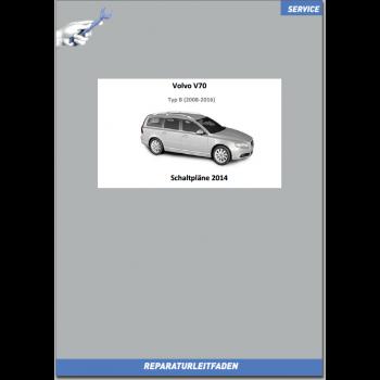 Volvo V70 (2014) Werkstatthandbuch Schaltpläne