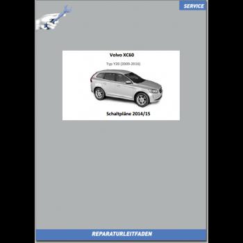 Volvo XC60 Y20 (14-15) Werkstatthandbuch Schaltpläne