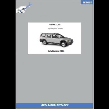Volvo XC70 (2004) Werkstatthandbuch Schaltpläne