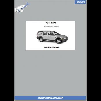 Volvo XC70 (2006) Werkstatthandbuch Schaltpläne