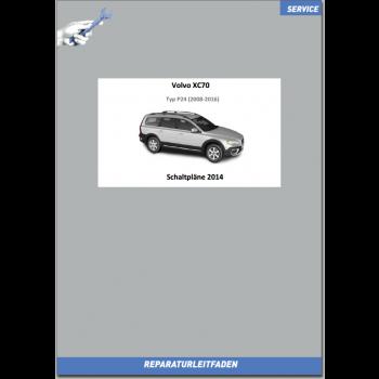 Volvo XC70 (2014) Werkstatthandbuch Schaltpläne