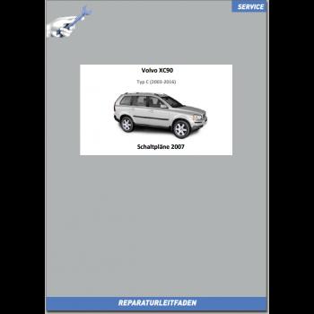 Volvo XC90 (2007) Werkstatthandbuch Schaltpläne