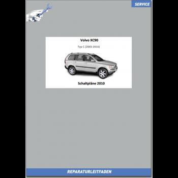 Volvo XC90 (2011) Werkstatthandbuch Schaltpläne