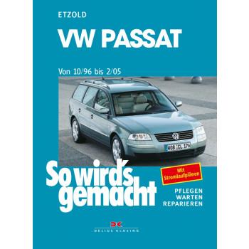 VW Passat B5 (96-05) - Reparaturanleitung So wird`s gemacht