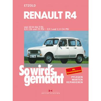 Renault R4 (64-86) Reparaturanleitung So wird`s gemacht Delius 62
