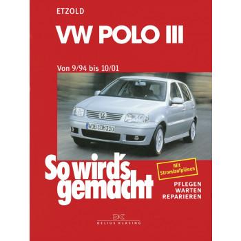 VW Polo III Typ 6N (94-01) - Reparaturanleitung So wird`s gemacht