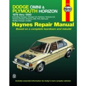 Dodge Omni and Plymouth Horizon (78 - 90) - Repair Manual Haynes